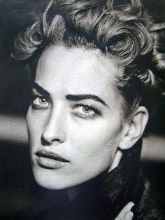 Tatjana Patitz - February 1991 - 'The German Gericht' - Marie Claire Germany - Photo by Peter Lindbergh - http://www.peterlindbergh.com/