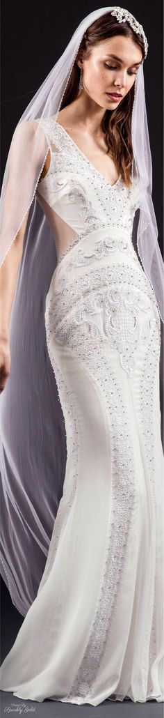 Temperley London Bridal Spring 2017 l Ria Most Beautiful Wedding Dresses, Dream Wedding Dresses, Beautiful Gowns, Wedding Gowns, Wedding Bridesmaid Dresses, Wedding Dress Styles, Bridal Dresses, Look Chic, Marie