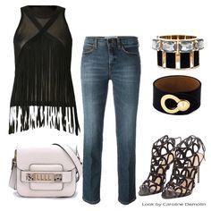 Um jeans perfeito! Veja post completo em www.carolinedemolin.com.br. #moda #fashion #tendencias #trend #personalstylist #personalstylistbh #consultoriademoda #consultoriadeimagem #imagem #identidade #fashionblogger #looks #lookdodia #lookoftheday #estilo #style #sophiawebster #loveshoes #shoes   #victoriabeckham #corporeum #proenzaschouler #alexandrebirman #fendi #dsquared2 www.carolinedemolin.com.br
