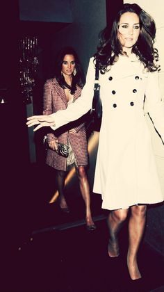 Kate and Pippa. Kate Middleton and Pippa Middleton picture. Carole Middleton, Middleton Family, Kate Middleton Style, Princess Kate, Princess Charlotte, Duchess Kate, Duke And Duchess, Princesse Kate Middleton, Kate And Pippa