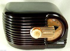 Gorgeous Art Deco 1938 Pre War Iconic Zenith Bakelite Tube Radio Classic Gem | eBay