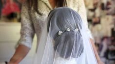 How to secure a drop veil | 3 useful tips on how to secure a Kate Middleton's style wedding veil. I hope you find these tips useful! In this video I cover 3 ...