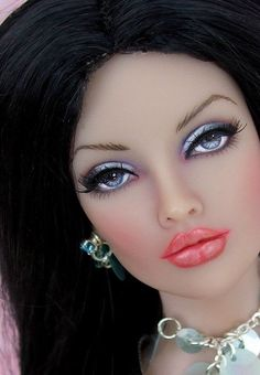 Stunning Barbie doll. Flawless face.