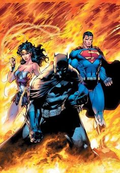 The Trinity | Artist: Jim Lee