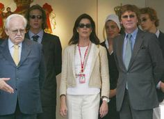 2003, Prince Rainier of Monaco, Princess Caroline and her husband Prince Ernst August of Hanover