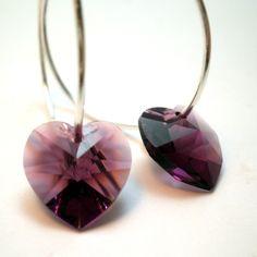 http://www.etsy.com/listing/65218700/earrings-purple-amethyst-swarvoski