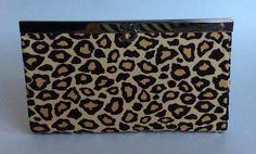 Leopard Slip-Lock Wallet on Etsy, $40.00 CAD