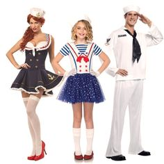 #Nautical Costume Ideas #costumes #Halloween #sailor