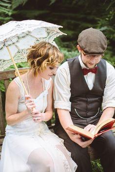Great Gatsby vintage wedding fashion and decor is popular this season.