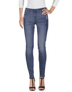 7 FOR ALL MANKIND Denim pants. #7forallmankind #cloth #dress #top #skirt #pant #coat #jacket #jecket #beachwear #