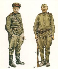 nº 195.- Lieutenant,Red Army Rifles, 1945..jpg