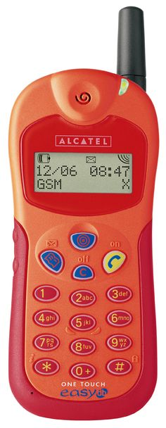 ALCATEL ONE TOUCH easy db, orange. My first mobile phone !!!