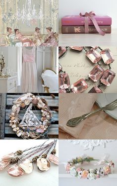 *** My World is Pink Champagne *** by Genevieve on Etsy--Pinned with TreasuryPin.com