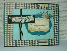 Birthday King (SUO) by dahlia19 - Cards and Paper Crafts at Splitcoaststampers