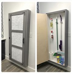 """Get terrific suggestions on """"laundry room storage diy cabinets"""". They are offered for you on our internet site. Broom Storage, Diy Storage Cabinets, Utility Storage Cabinet, Cleaning Supply Storage, Cleaning Closet, Cleaning Supplies, Cleaning Diy, Laundry Room Organization, Laundry Room Design"""