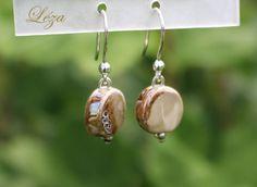 Artisanal, Html, Beige, Drop Earrings, Boutique, Jewelry, Drop Earring, Fantasy, Beads