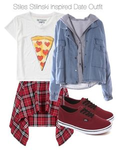 """""""Teen Wolf - Stiles Stilinski Inspired Date Outfit"""" by staystronng ❤ liked on Polyvore featuring Aéropostale, Vans, date, StilesStilinski and tw"""