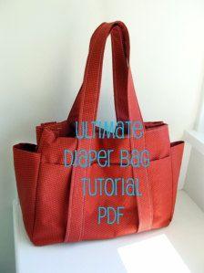 diaper bag tutorial