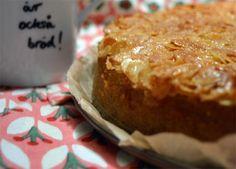Toscakaka - Ein Rezept aus Schweden Kuchen mit Mandelkaramell