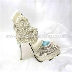 Ivory Pearl Wedding Shoes