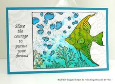 Have the Courage - Designs by Ryn Stamps...and an update