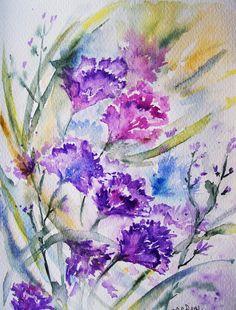 watercolor 18x24 by M,Cristina De Amicis