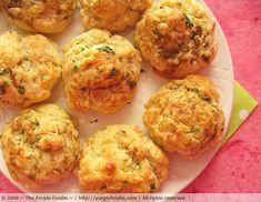 Cheddar Biscuits - They taste just like Red Lobster and don't use bisquick.  Delicious!!
