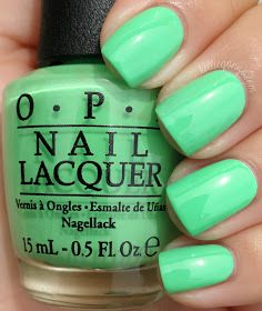 OPI - You Are So Outta Lime! To me it looks more Like a Mint Green.Absolutely One of My Favorite Colors! Neon Nail Polish, Nail Lacquer, Neon Nails, Pastel Nails, Opi Nails, Cute Acrylic Nails, Mauve Nails, Green Toe Nails, Lime Green Nails