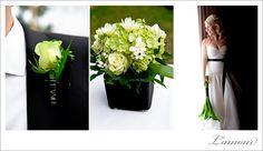 Hawaii Wedding Photographer – Ihilani Resort Black White and Green Wedding