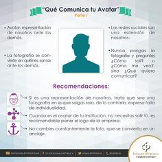 ¿Sabes qué comunica tu #avatar? ¡Cuida tu imagen pública en redes sociales!