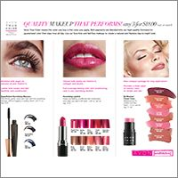 Make Up & The Tomboy: Fundraising with Avon