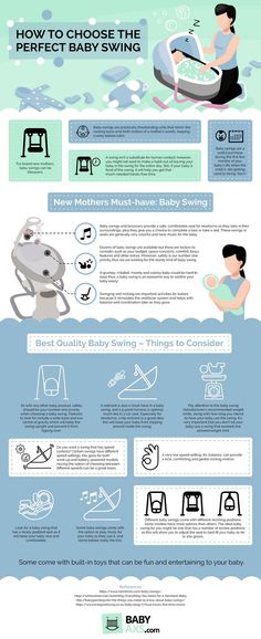 Baby swings have their way of soothing children and keeping them calm. But how can the best baby swing actually come to your rescue?