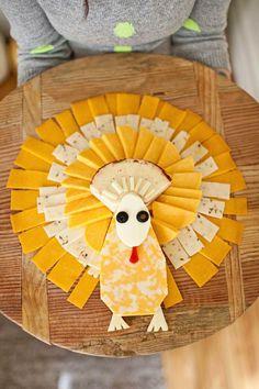 Umm… a cheese tukey shaped cheese tray?!!!