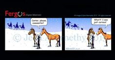 """Canter Please Wise Men Camels"" Fergus"