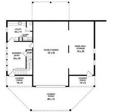 Flexible Vacation Escape - 58564SV   1st Floor Master Suite, Bonus Room, CAD Available, Loft, Mountain, Narrow Lot, PDF, Vacation   Architectural Designs