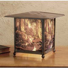 View the Meyda Tiffany 37476 Rustic / Country Accent Table Lamp from the Maxfield Parrish Collection at LightingDirect.com.