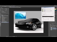 How to change a white car to black or the color of ocean waves. - YouTube