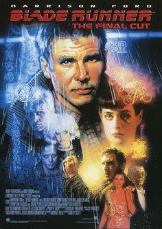Ridley Scott Blade Runner [The Final Cut] Harrison Ford, Blade Runner Poster, Film Blade Runner, Sean Young Blade Runner, Daryl Hannah, Ridley Scott Blade Runner, Sci Fi Films, 80s Sci Fi, Cyberpunk Art