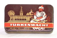 1930's TURKENWACHT Turkish Cigarettes Tobacco Tin - Feinshitt - Smoking Pipe | eBay
