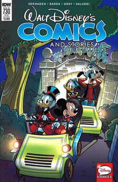 Cover for Walt Disney's Comics and Stories (IDW, 2015 series) #730 [Regular Cover]