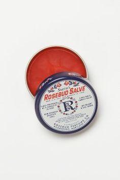 Rosebud Perfume Co. Smith's Rosebud Salve #anthrofave