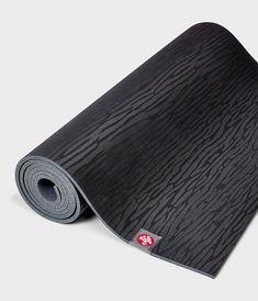 eKO® Yoga Mat 6mm - Black Yoga Mat Reviews, Rubber Mat, Tone It Up, Best Yoga, Natural Rubber, Thing 1 Thing 2, Black, Amazons, Technology