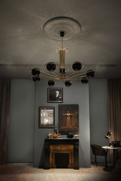 NEIL | SUSPENSION CEILING PENDANT | DELIGHTFULL - UNIQUE LAMPS * http://www.delightfull.eu/en/heritage/suspension/neil-ceiling-lamp.php