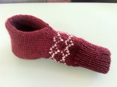 CupHolder Mitten pattern by Chialee Yeh