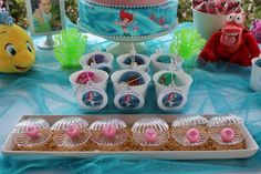 "Photo 9 of 19: Disney Princess Ariel / Birthday ""Julie's 6th Birthday"" | Catch My Party"