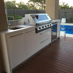 "Adelaide Outdoor Kitchens on Instagram: ""Outdoor kitchen with polished concrete benchtop. #AOK #adelaide #adelaidestyle #adelaidedesign #adelaideoutdoorkitchens #madeinadelaide…"""