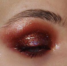 "pixts on Twitter: ""mua. regina talpa… "" Makeup Inspo, Twitter, Golden Eyeshadow, Shades Of Red, Makeup Trends, Seasons, Beauty"