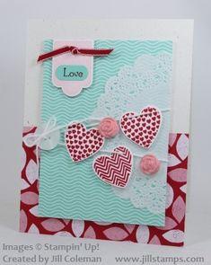 Hearts a Flutter Banner Love