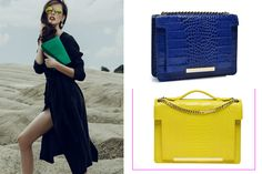 Color-block Bags@Wild Inga #color#fashion#style#leather#handmade