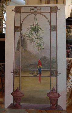 """Trompe l'oeil. Creazioni """"Fogliaoro"""" studio d'arte e decorazione di Manuela Lombardi e Renzo Murtas"""